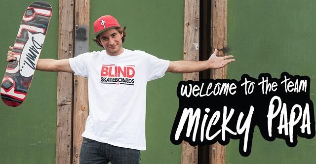 Мики Папа за Blind