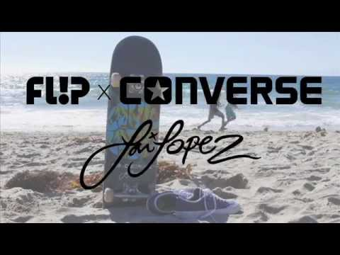Луи Лопез для Flip x Converse