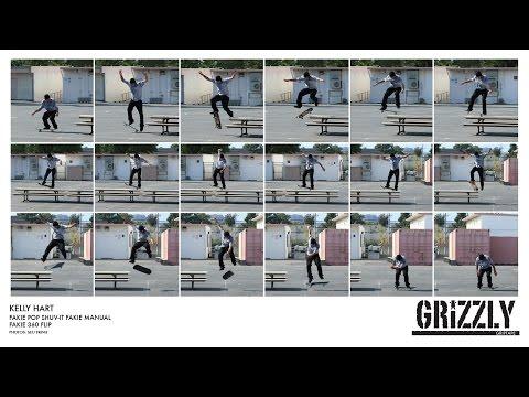 Келли Харт для Grizzly Griptape
