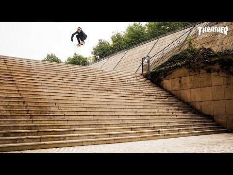Аарон Хомоки прыгнул с 25
