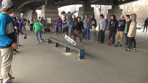 Отчет с Athletic Rail Jam